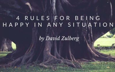 4 Rules For Being Happy In ANY Situation